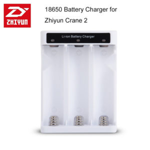 Zhiyun Original Battery Charger for 18650 Battery for Zhiyun Crane 2