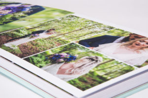 Wedding albums for portraits
